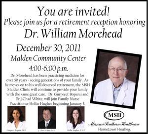Dr Morehead