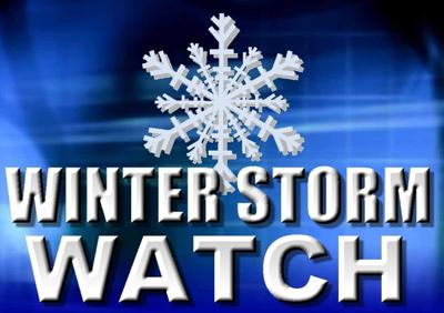 Winter Storm Watch Has Been Issued for Saturday Night