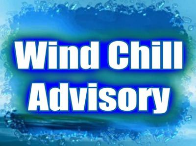 Wind Chill Advisory in Effect