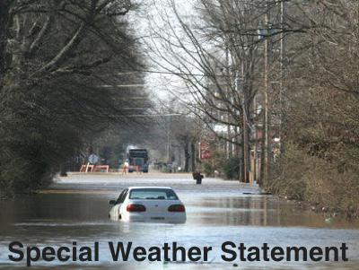 Special Weather Statement - Heavy Rains