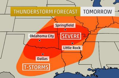 Possibility of Severe Weather