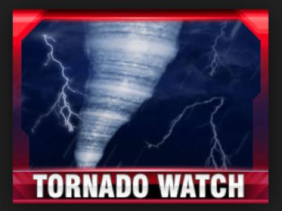 Tornado Watch Until 7:00 p.m. Tonight