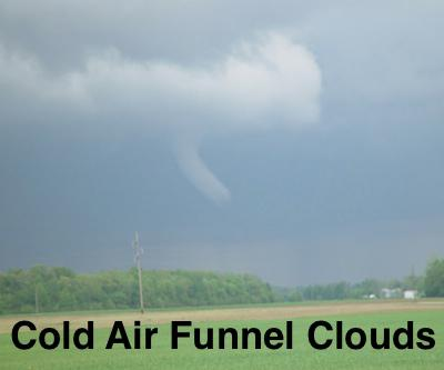 Funnel Clouds Reported Near Bernie, Missouri
