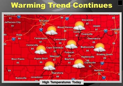 Weather for Monday, July 21, 2014
