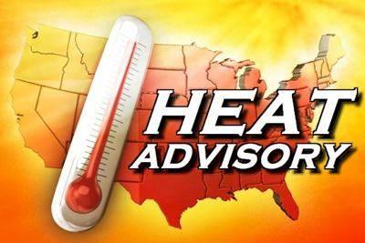 Heat Advisory Issued by National Weather Service