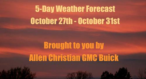 5-Day Weather Forecast for Stoddard County