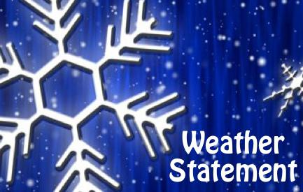Special Weather Statement Issued by National Weather Service