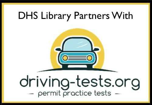 Dhs Library Announces Partnership With Driving Tests Org