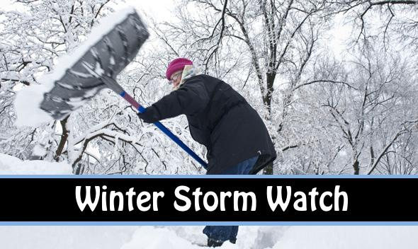Winter Storm Watch Issued by National Weather Service