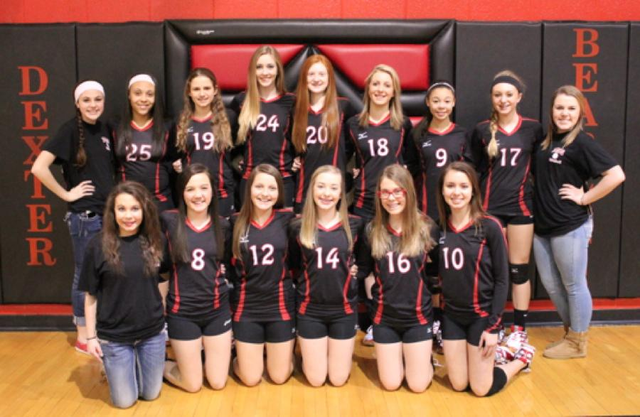 Dexter Middle School 8th Grade Volleyball Roster And Schedule