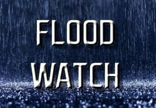 Flash Flood Watch in Effect Through Friday