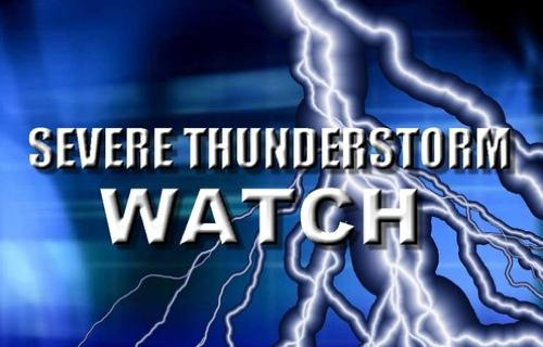 Severe Thunderstorm Watch Issued for Stoddard County