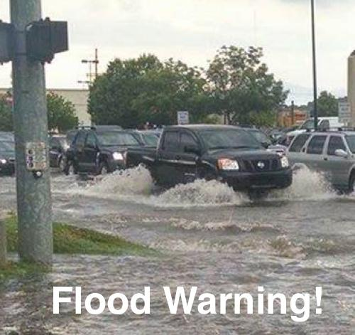 Flood Warning Issued for Fisk