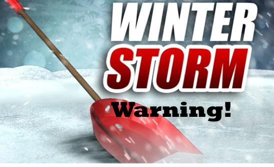 Winter Storm Warning Issued for Stoddard County, Missouri