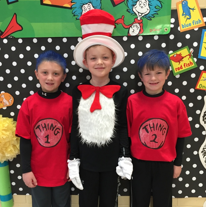 Dress As Your Favorite Dr. Seuss Character At S.W. Elementary