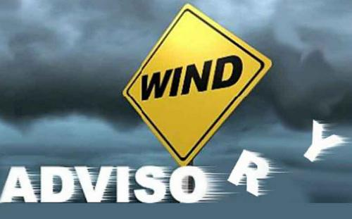 Wind Advsory for Stoddard County