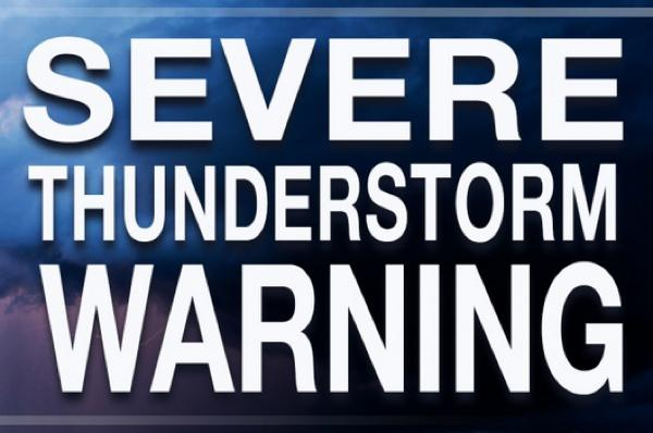 Severe Thunderstorm Warning Issued for Northeastern Stoddard County