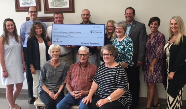 Stoddard County Children's Home Receives Generous Donation