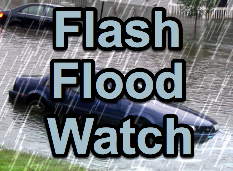 Flash Flood Watch Up to 8 Additional Inches of Rain