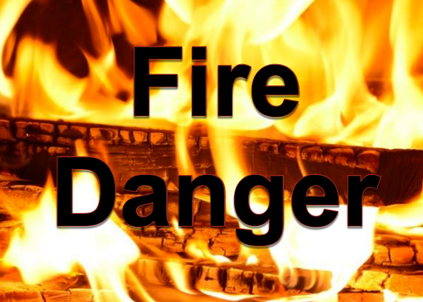 National Weather Service Has Issued a Weather Statement - Fire Danger!