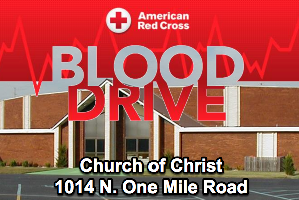 Church of Christ Hosting Blood Drive