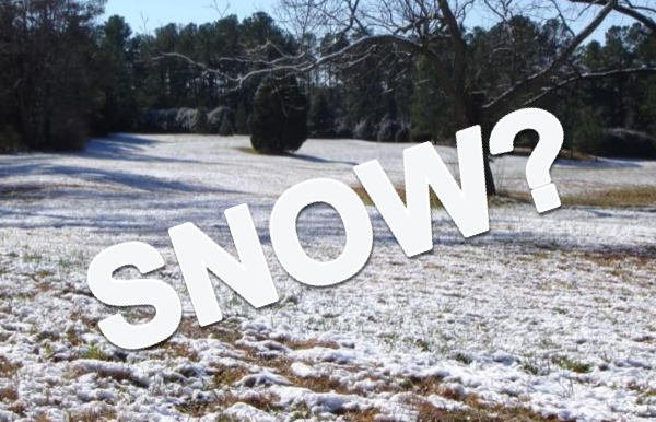 Could We Get Snow?  Special Weather Statement Issued