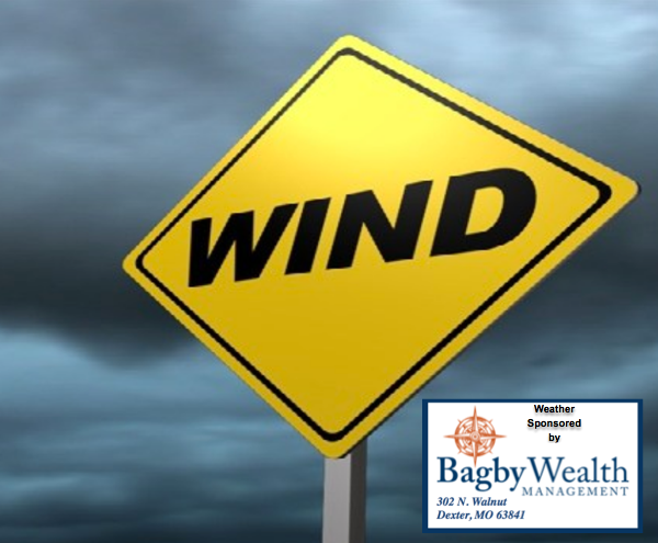Special Weather Statement - Winds Are Blowing!
