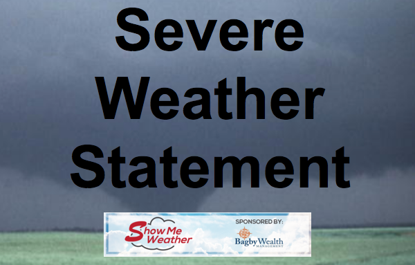 Severe Weather Statement Issued