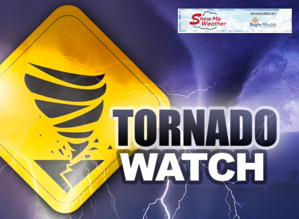 Tornado Watch Issued for Stoddard County, Missouri