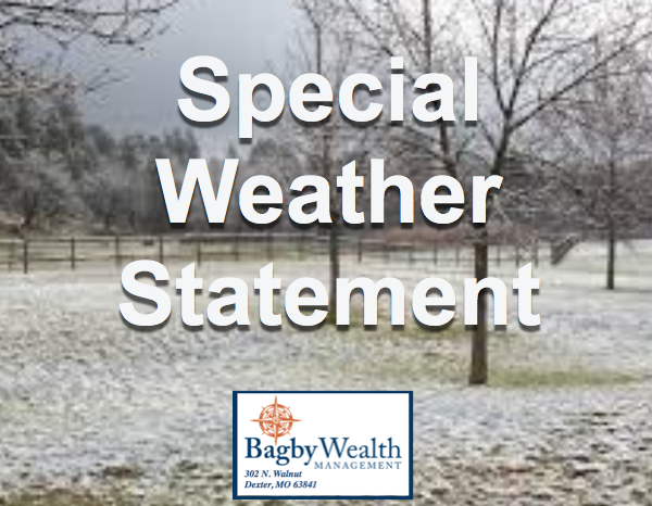 Special Weather Statement - Light Snow Possible Today
