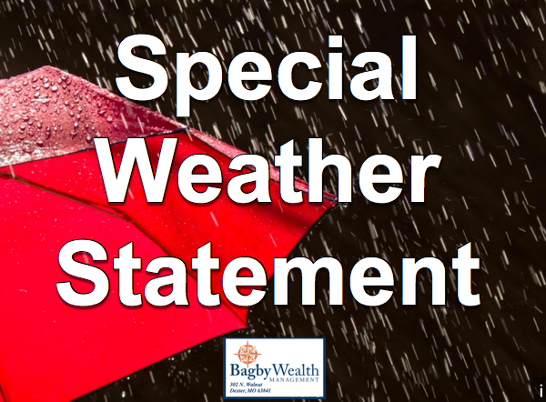 Special Weather Statement Issued