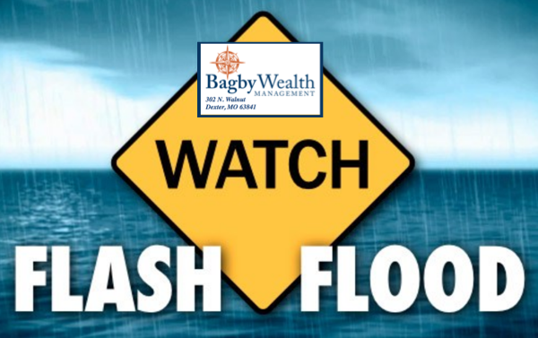 Flash Flood Watch Issued for Stoddard County Until 7 p.m. Thursday