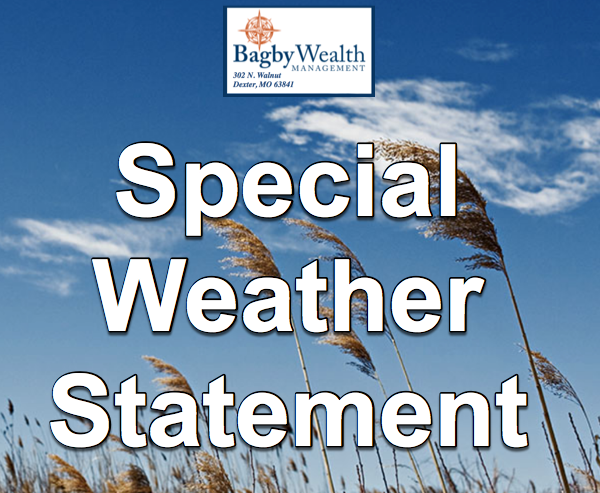 Special Weather Statement Issued Until 5 a.m. Friday