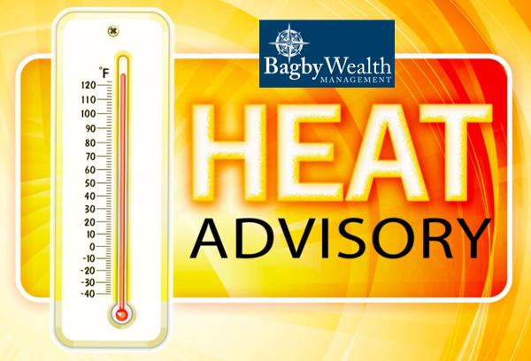 Heat Advisory Issued from Noon - 8 pm Wednesday