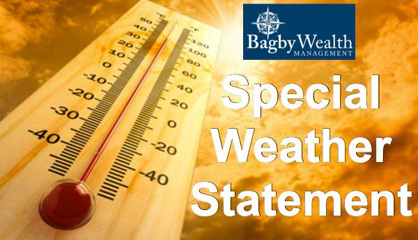 Another HOT Day, Another Special Weather Statement - Heat Indices Above 100
