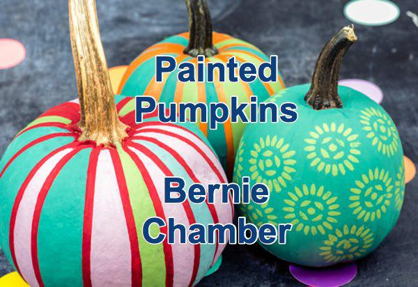 Bernie Chamber of Commerce Painted Pumpkins