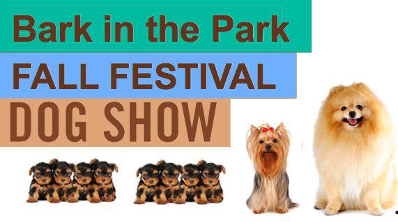Bark in the Park at Bernie Fall Festival