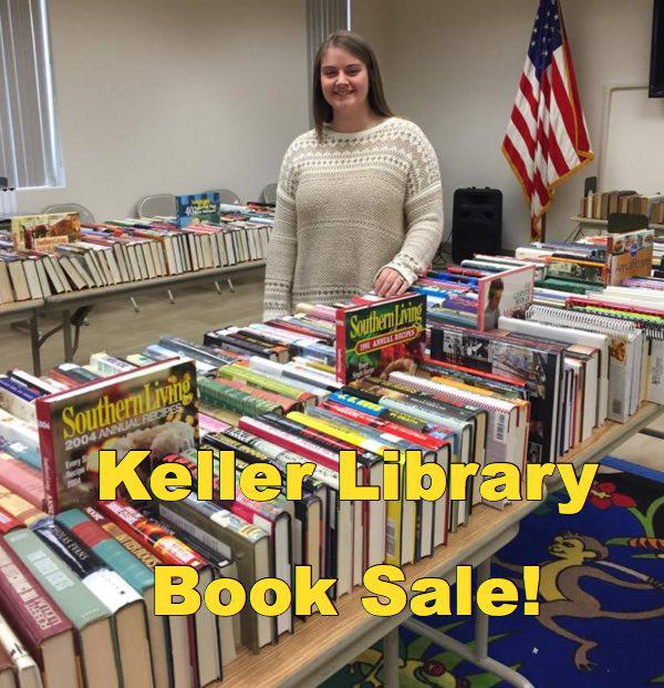 Annual Book Sale at Keller Public Library