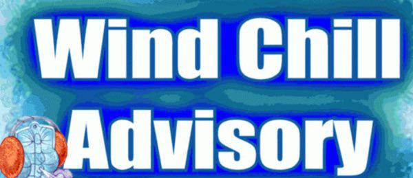 Wind Chill Advisory in Effect for Stoddard County