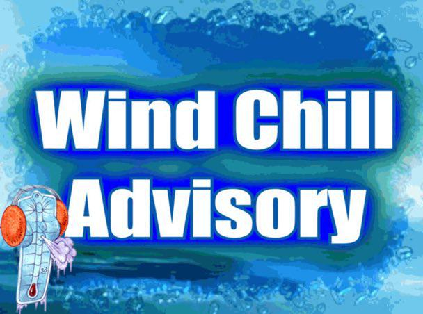 Wind Chill Advisory for Stoddard County