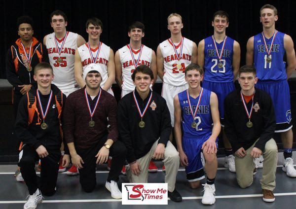 2018 SCAA Boys Basketball All Tournament Team