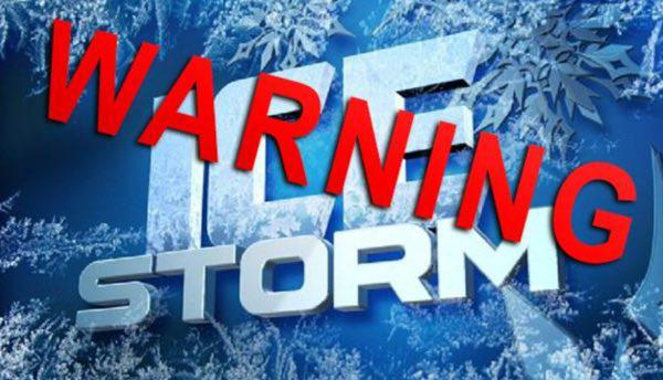 Ice Storm Warning Issued for Stoddard County