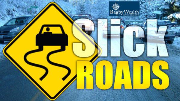 Slick Road Conditions Could Occur Tonight