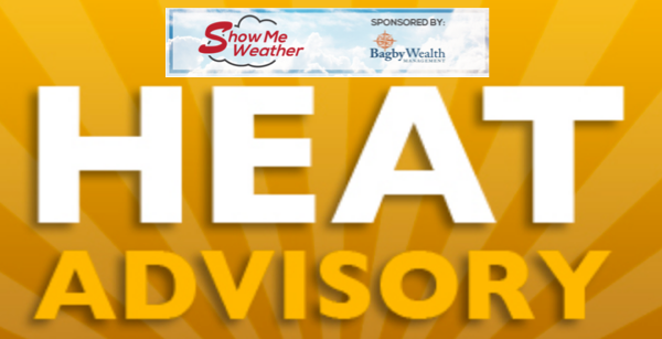 Heat Advisory Until 8 p.m. Saturday for Stoddard County