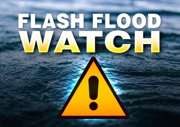 Flash Flood Watch Issued for Stoddard County Beginning 7 p.m. Friday Evening