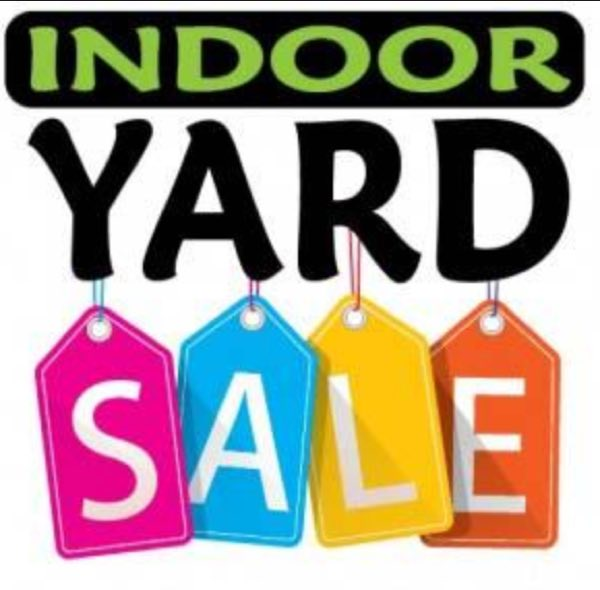 Church Rummage Sales This Weekend: Indoor Yard Sale At Activity Bldg Behind First General