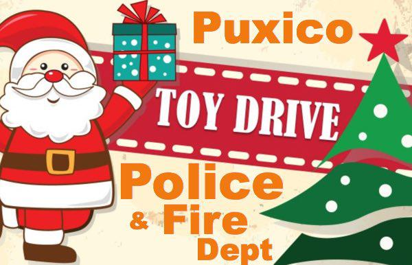 Puxico Police and Fire Dept Toy Drive
