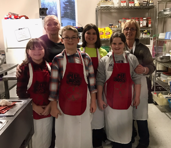 Elderland Restaurant and 4-H Pie SPIN Club