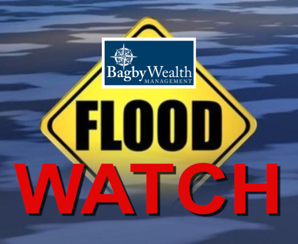 Flood Watch Issued, Up to 4 Inches of Rain Possible in Some Areas