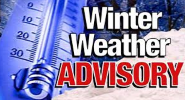 Winter Weather Advisory Issued - Snow and Wind - That's the Forecast!